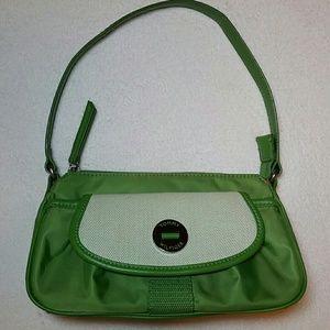 Tommy Hilfiger small green shoulder purse